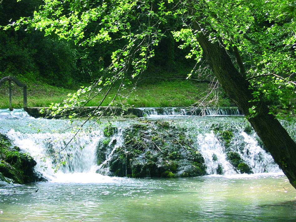 Alzon - cascade du Tournal