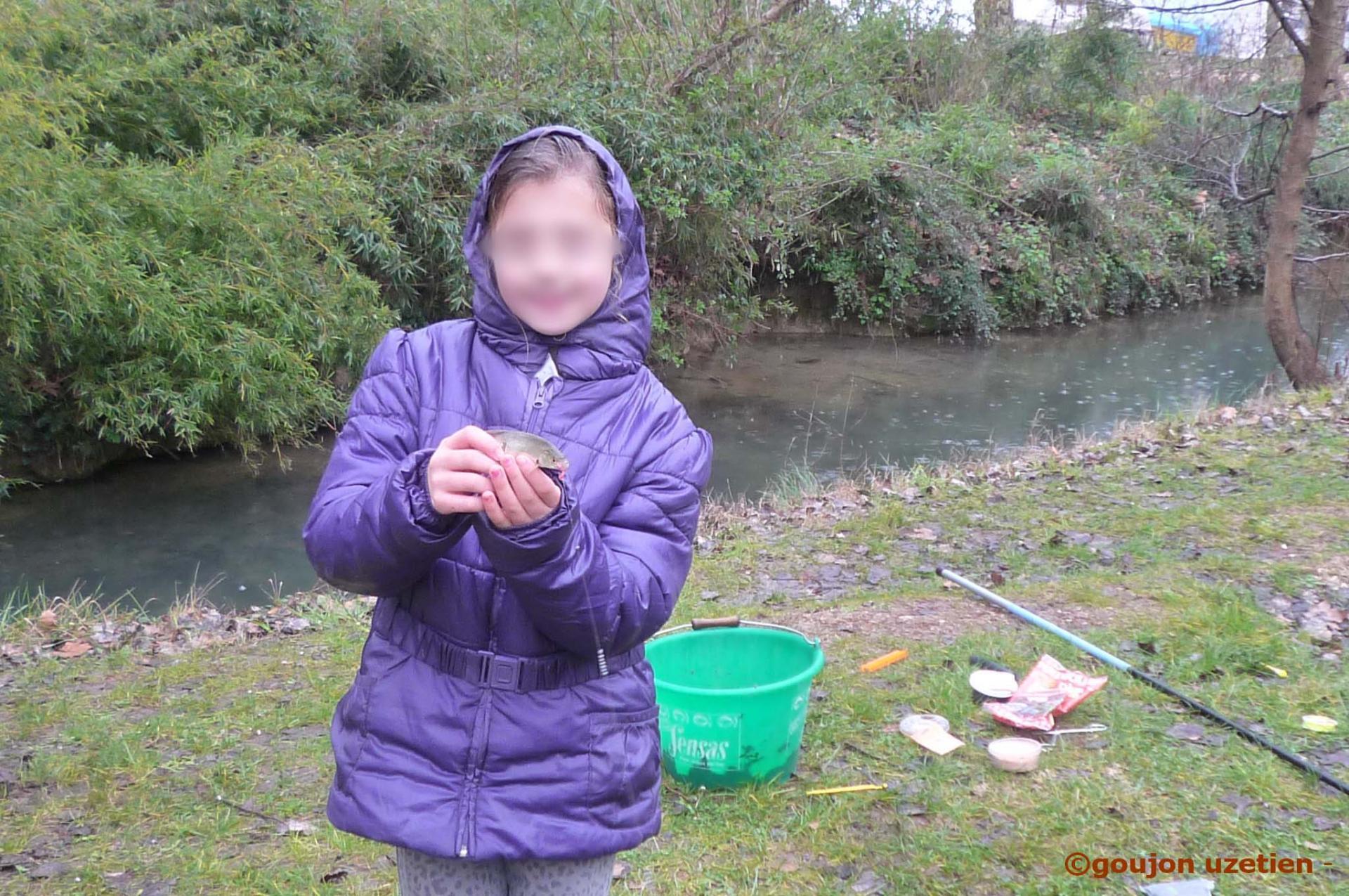 Atelier petit poisson fl goujon uzetien